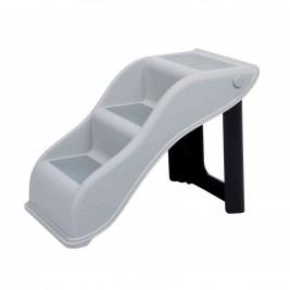 Protiskluzové schody, vnitřní použití 34x39x54 cm světle šed