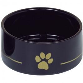 Nobby keramická miska GOLDEN PAW černá 15,0 x 6,0 cm / 0,55 l