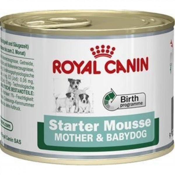 Royal Canin - Canine konz. Mini Starter Mousse 195 g