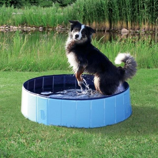 Trixie Bazén pro psy světle modrá & modrá 80 x 20 cm