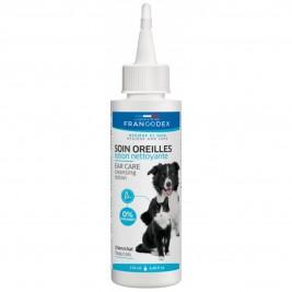 Francodex Roztok čistící na uši pes, kočka 125ml
