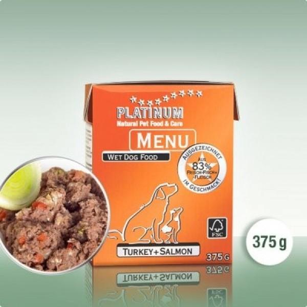 Platinum Menu Krocan + Losos