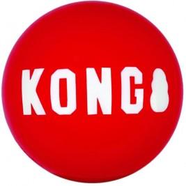 Hračka guma Signature míč 2ks M Kong