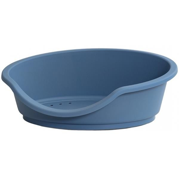 Pelech ovál ECO plast 80x60x25cm modrý Duvo+
