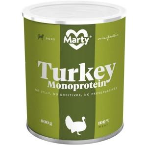MARTY konz. pro psy - Monoprotein krůtí 800 g