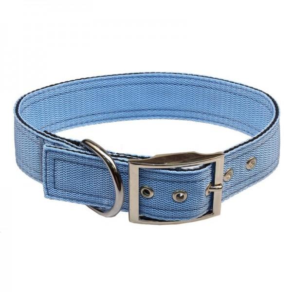 Obojek nylon modrý B&F 4,0 x 50 cm