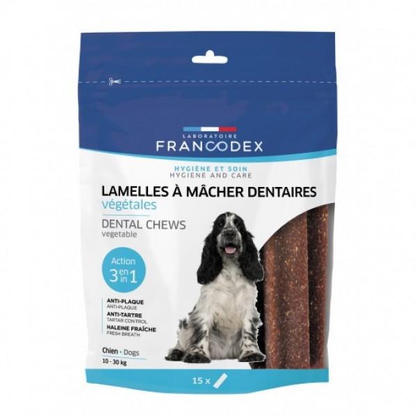 Francodex Weggy žvýkací plátky M pes 350g 15ks