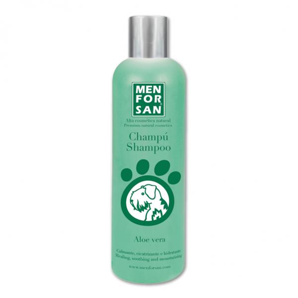 Menforsan Šampon zklidńující a hojivý s Aloe Ver 1l