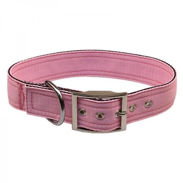 Obojek nylon růžový B&F 4,0 x 50 cm