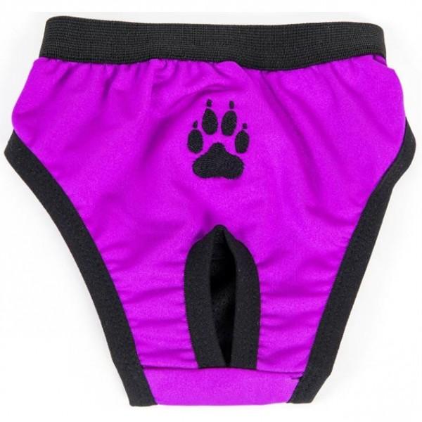 """Hárací kalhotky """"Gina"""" fialové s tlapkou 70 cm"""