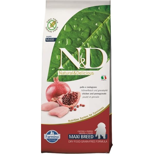 N&D Grain Free Dog Puppy Large Chicken & Pom. 2,5 kg