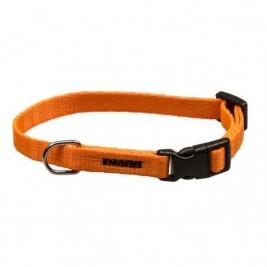 Obojek puppy nylon rozlišovací - oranžový B&F 1,00 x 18-28 cm