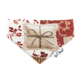 "Šátek na obojek ""Christmas Gift"" vel. S"