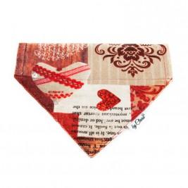 "Šátek na obojek ""Christmas Gift"" vel. L"
