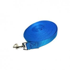 Vodítko DINOFASHION stopovací ploché modré 10m/2cm