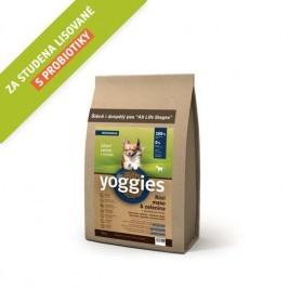 Yoggies MINI Kozí maso a zelenina 1,2 kg