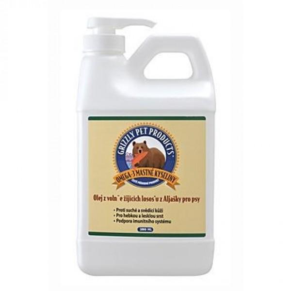 Lososový olej Grizzly Wild Salmon 2000 ml