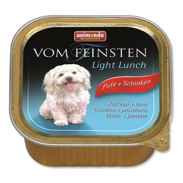 Animonda VomFeinsten dog van. Light  -krůta, šunka 150 g