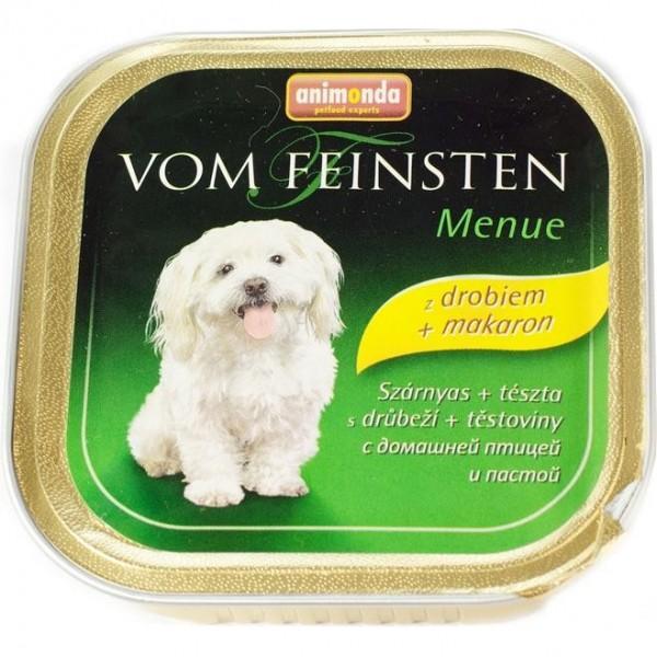 Animonda VomFeinsten Menue dog van. -drůbež, těst. 150 g