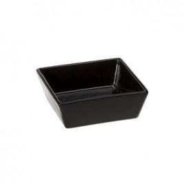 Miska keramická ALTAIR Black 14 čtvercová 0,5l FP