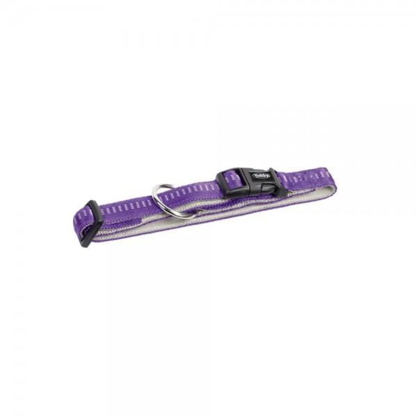 Nobby SOFT GRIP obojek 40-55cm / 25mm fialová
