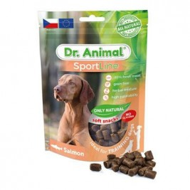 Pochoutka Dr. Animal Sportline losos 100g