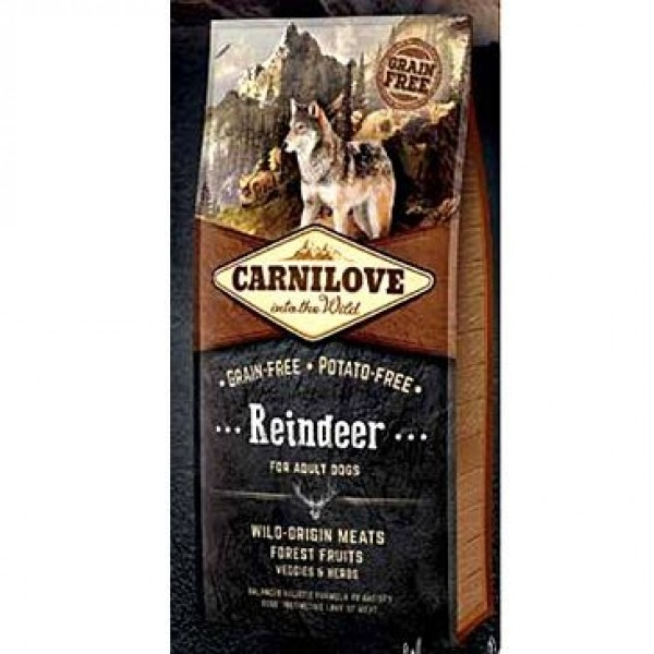 Carnilove Dog Reindeer for Adult  NEW 1,5kg