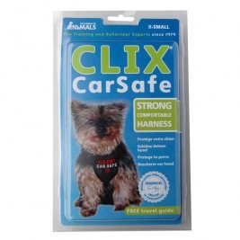 Postroj nylon s bezpečnostním pásem  Clix extra small