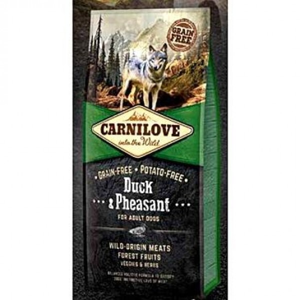 Carnilove Dog Duck & Pheasant for Adult  NEW 1,5kg
