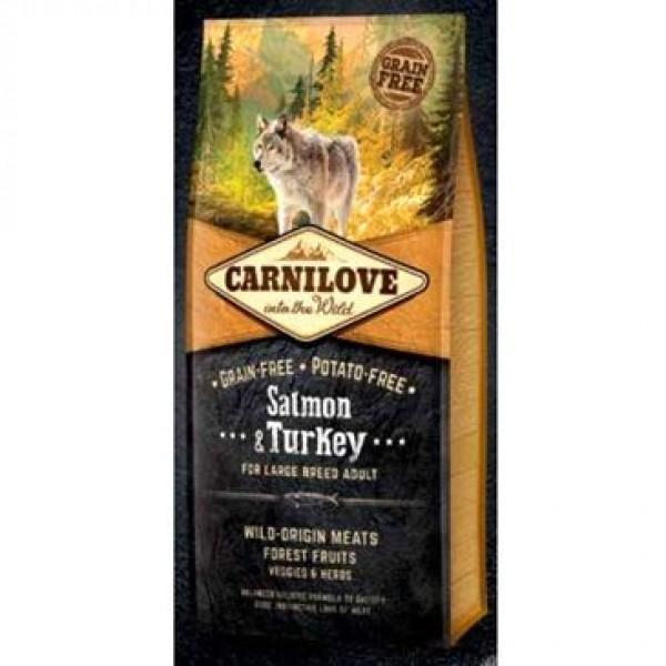 Carnilove Dog Salmon & Turkey for LB Adult  NEW 12kg
