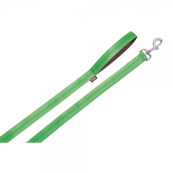 Nobby SOFT GRIP vodítko nylon 120cm / 25mm zelená