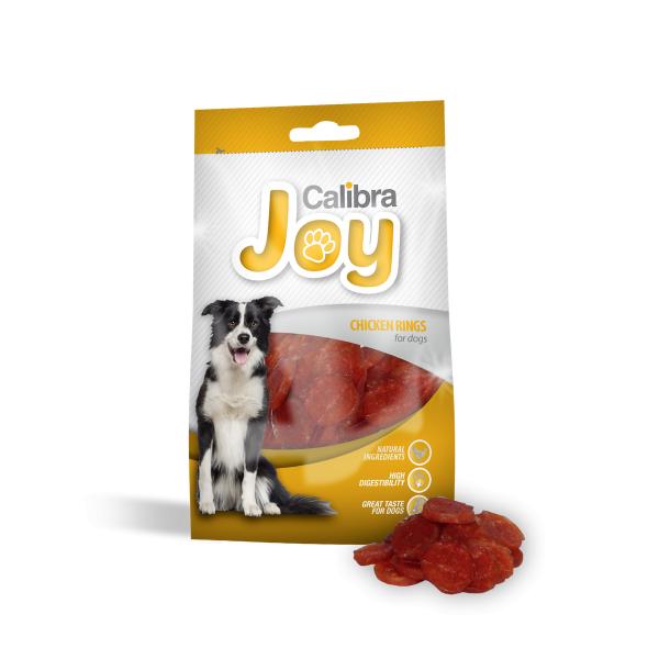 Calibra Dog Joy Chicken Rings 80 g