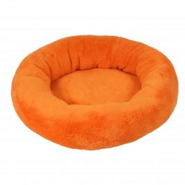 Pelech Amélie plyš kulatý 40cm  Oranžová A30 1ks