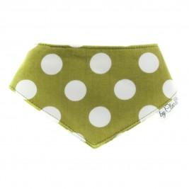 """Šátek na patentky """"Ennis"""" zelený vel. S"""