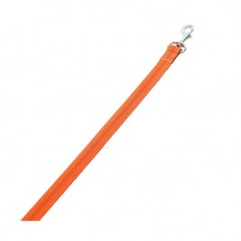 Nobby SOFT GRIP vodítko nylon 120cm / 10mm oranžová