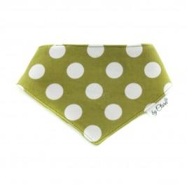 """Šátek na patentky """"Ennis"""" zelený vel. M"""