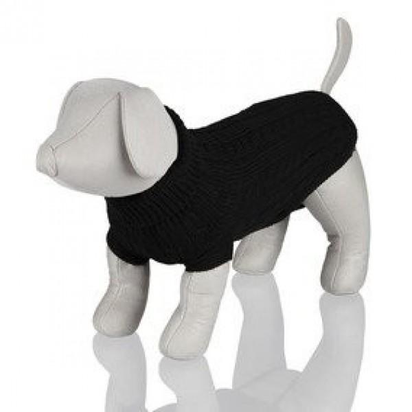 Černý svetr King of Dogs XS 30 cm