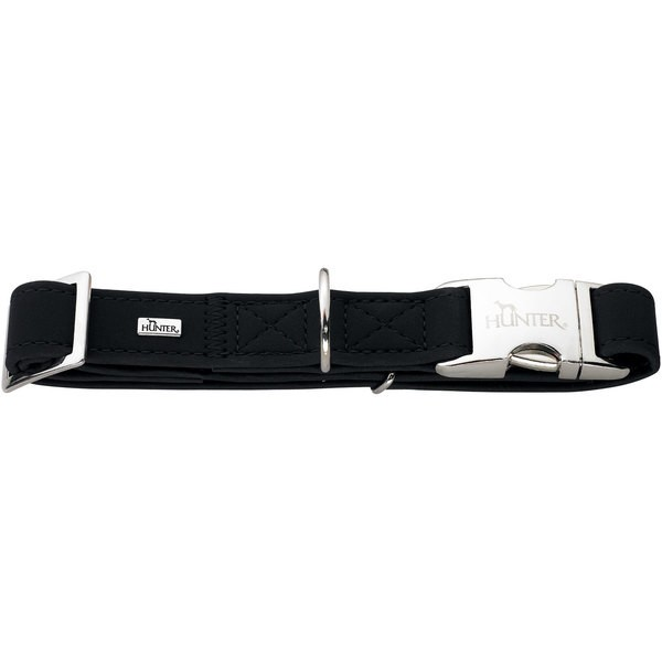 Levně Obojek Softie Alu-Strong černý 30-45 cm/15 mm