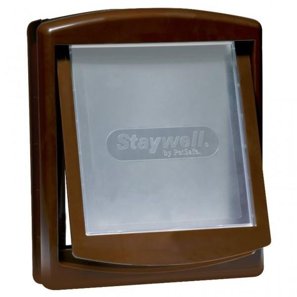 Dvířka plast Hnědá STAYWELL 775 47x39cm magnet 1ks