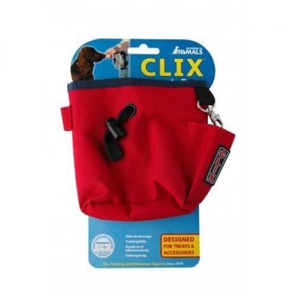 Pamlsovník nylon červený Clix 1 ks