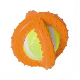 Nobby hračka gumový míč s tenisákem 7,5cm