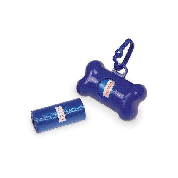 Nobby TidyUp Bone modrý zásobník na sáčky a 2 ks rolí