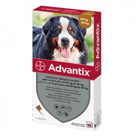 Advantix Spot On 1x6ml pro psy 40-60kg (1pipeta)