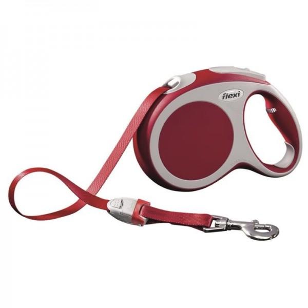 Flexi Vario L pásek 5 m červené 60 kg