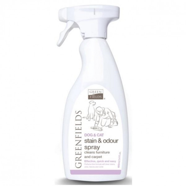 Greenfields Stain&odor spray - odstraňovač skvrn 400 ml