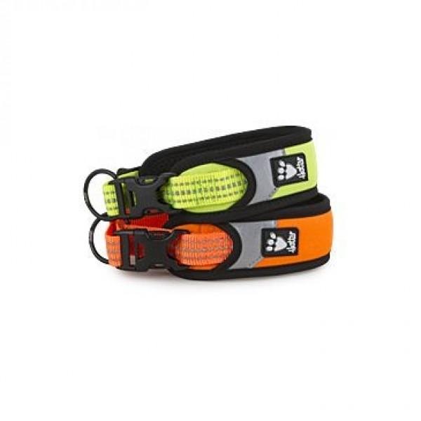 Obojek Hurtta Lifeguard Dazzle 25-35 cm oranžový - BeCydog.cz b1edaf22eb