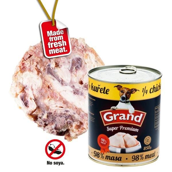 Grand Extra konz. - 1/4 kuřete 855 g
