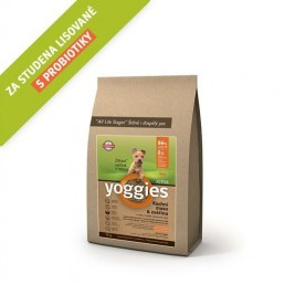 Yoggies MINI Active kachna a zvěřina 5 kg