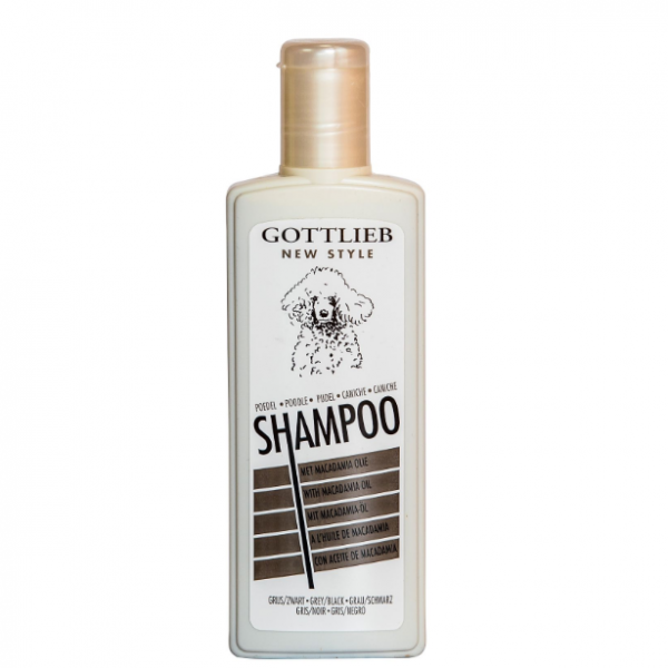 Gottlieb Pudl šampon s makadamovým olejem Černý 300ml