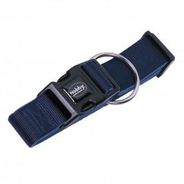 Nobby CLASSIC PRENO extra široký obojek neoprén tmavě modrá L-XL